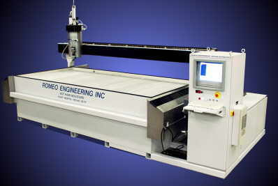romeo waterjet cutting